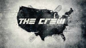 the crew logo grau bild