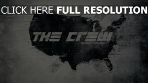 the crew logo grau bild
