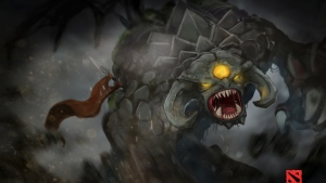 dota 2 roshan monster regen