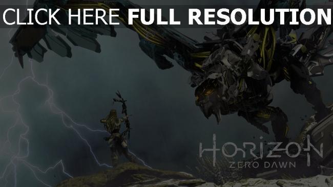 hd hintergrundbilder civilization zero dawn guerrilla games horizon
