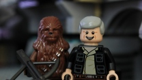 han solo the force awakens chewbacca lego star wars