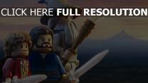 hobbit bilbo baggins gandalf lego staff