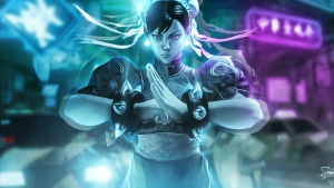 art chun li street fighter v