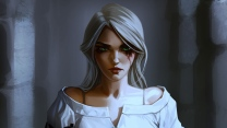der hexer 3  art wild hunt girl the witcher 3