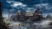 village wild hunt house the witcher 3 hexer