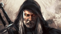 art geralt of rivia the witcher hexer