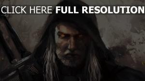 art geralt of rivia the witcher hexer
