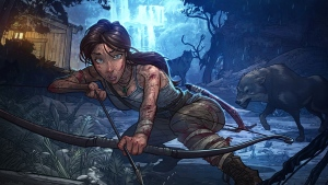 art lara croft schiffswrack tomb raider