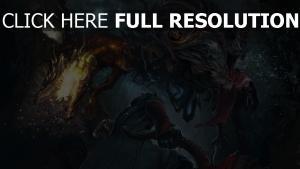 monster jäger kampf bloodborne