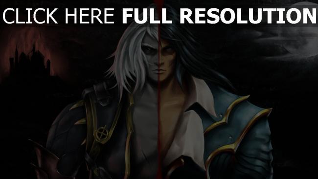 hd hintergrundbilder lords of shadow 2 gabriel belmont dracula castlevania