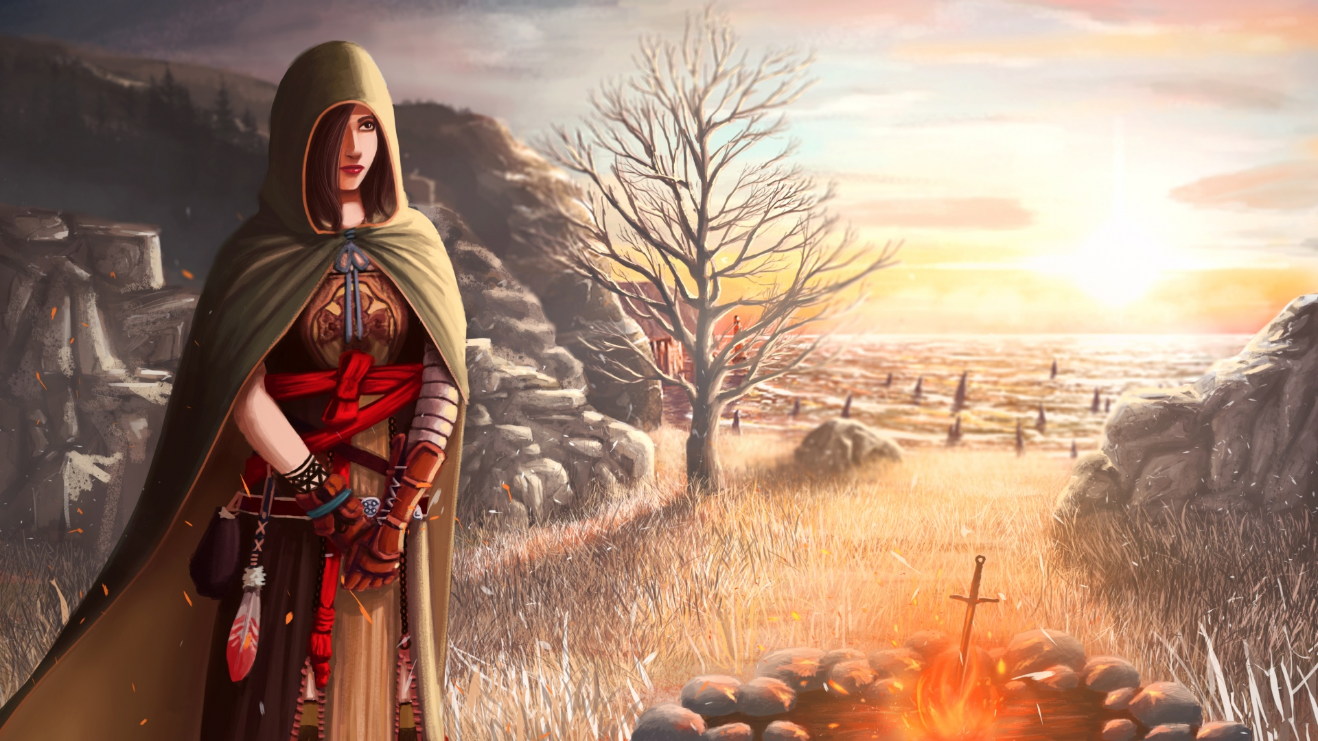 Hd Hintergrundbilder Shanalotte Feld Mädel Dark Souls 2 Kap