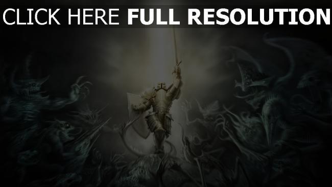 hd hintergrundbilder rüstung diablo 3 crusader