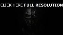 corvo attano maske dishonored 2 gesicht