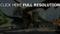 dragon age drachen inquisition schlacht