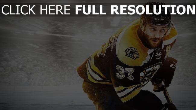 hd hintergrundbilder patrice bergeron nhl 15 hockey spiel