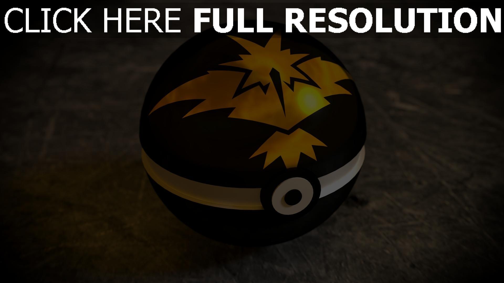 hd hintergrundbilder pokemon go spiel pokeball 1920x1080