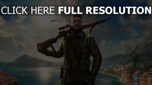 gewehr soldat sniper elite 4 stadt