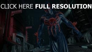 superheld spiderman edge of time