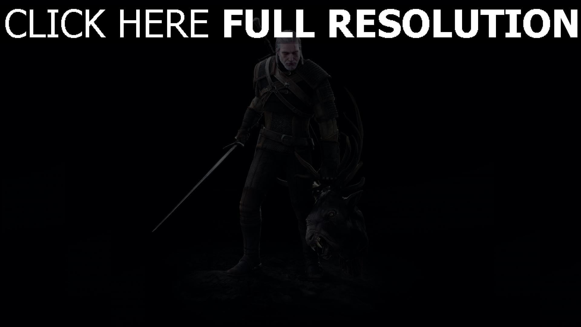 Herunterladen 1920x1080 Full Hd Hintergrundbilder Geralt