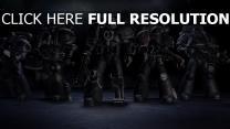 soldaten deathwatch waffen rüstungen tyranideninvasion warhammer 40k