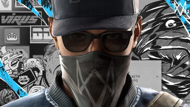 hd hintergrundbilder marcus holloway gesicht watch dogs 2