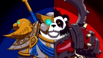 allianz und horde panda world of warcraft wow