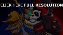 allianz und horde panda world of warcraft wow
