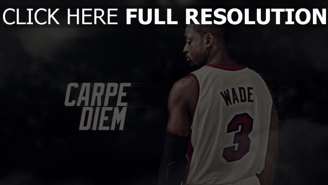 hd hintergrundbilder basketball nba dwyane wade spieler