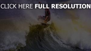 surfen welle surfer trick meer