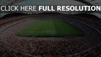 fußball feld emirate stadion