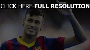 neymar barcelona spieler fußball