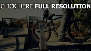 bmx fahrrad menschen