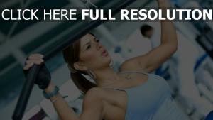 mädchen fitness Übung