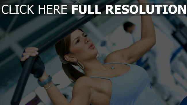 hd hintergrundbilder mädchen fitness Übung