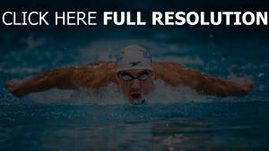 michael phelps schwimmer schwimmen wasser