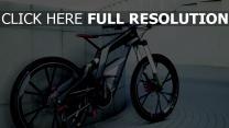 audi fahrrad bike grau sport