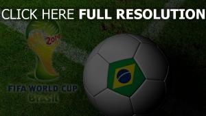 ball fifa 2014 feld logo fußball