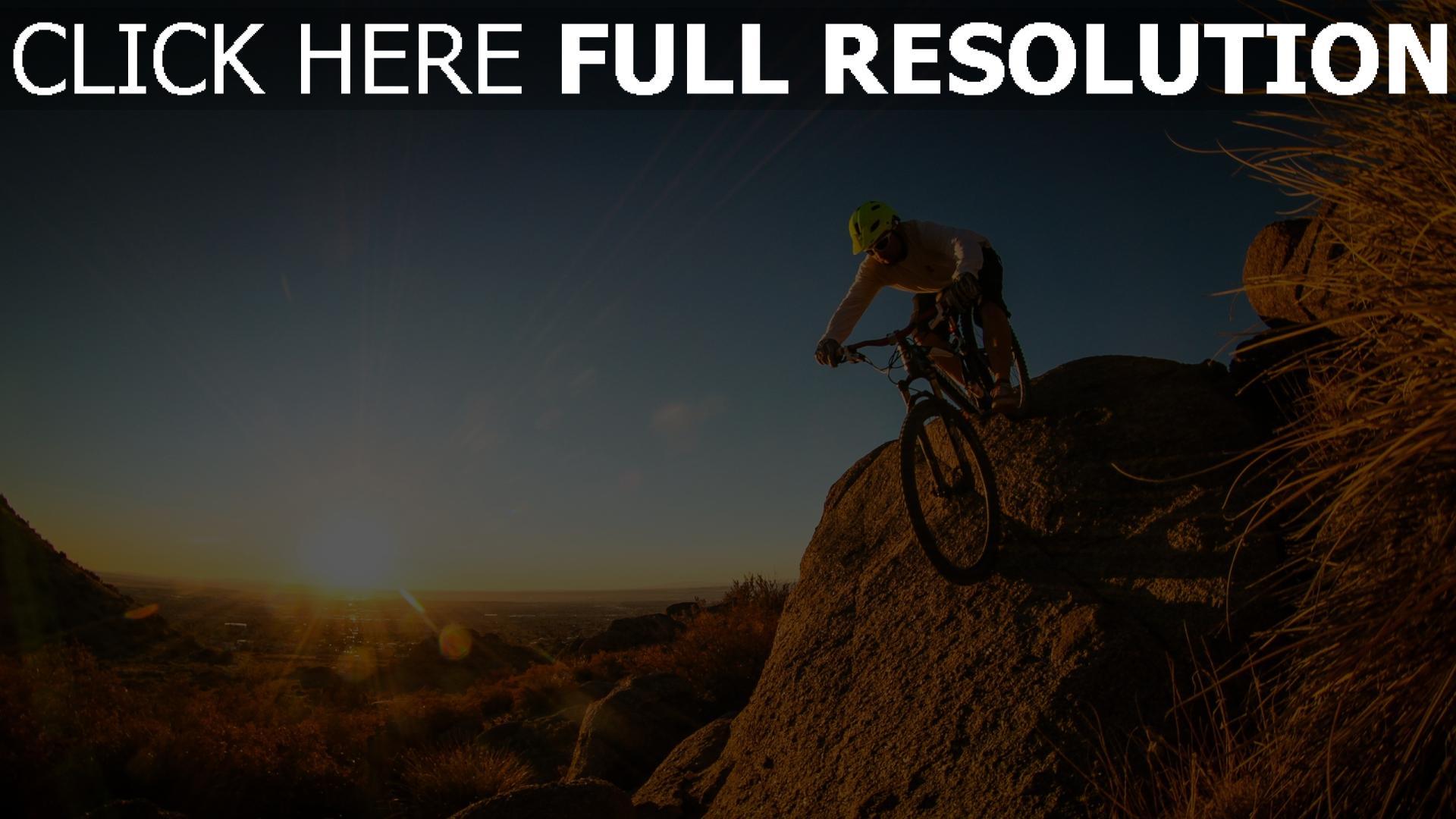 hd hintergrundbilder fahrrad mountainbike downhill mann radfahrer 1920x1080