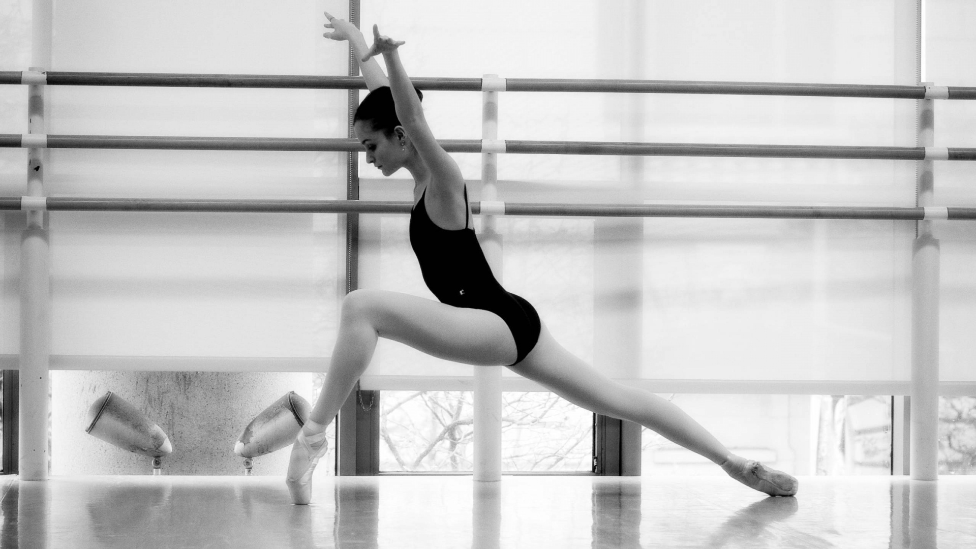 hd hintergrundbilder ballerina mädchen tanz gymnastik 1920x1080