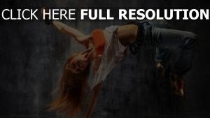 mädchen tanzen springen breakdance bewegung