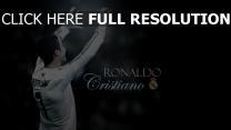 cristiano ronaldo fußball real madrid verein