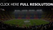 stadion spiel barcelona zuschauer