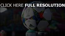 champions league ball logos