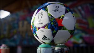 champions league ball logos