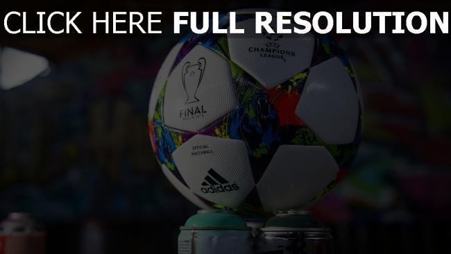 hd hintergrundbilder champions league ball logos