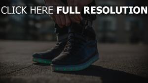 schuhe turnschuhe füße hintergrundbeleuchtung