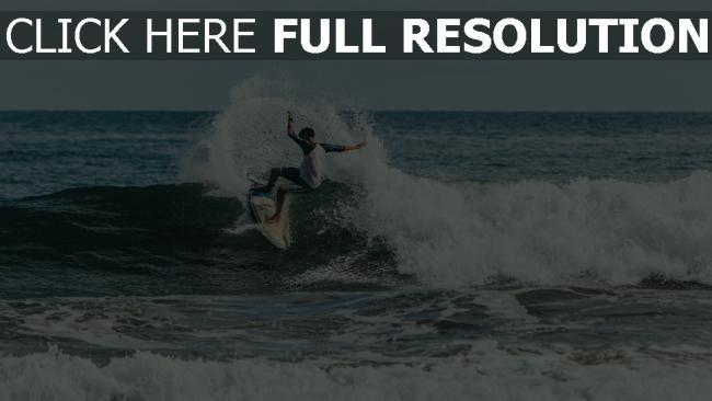 hd hintergrundbilder surfen trick welle surfer