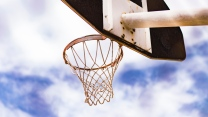 ring netz basketball himmel