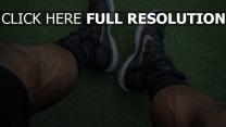 muskeln nike turnschuhe füße sportler