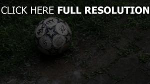 ball dreck fußball gras